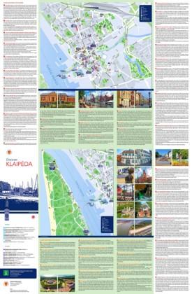 Klaipėda tourist map