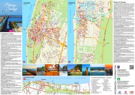 Palanga tourist map