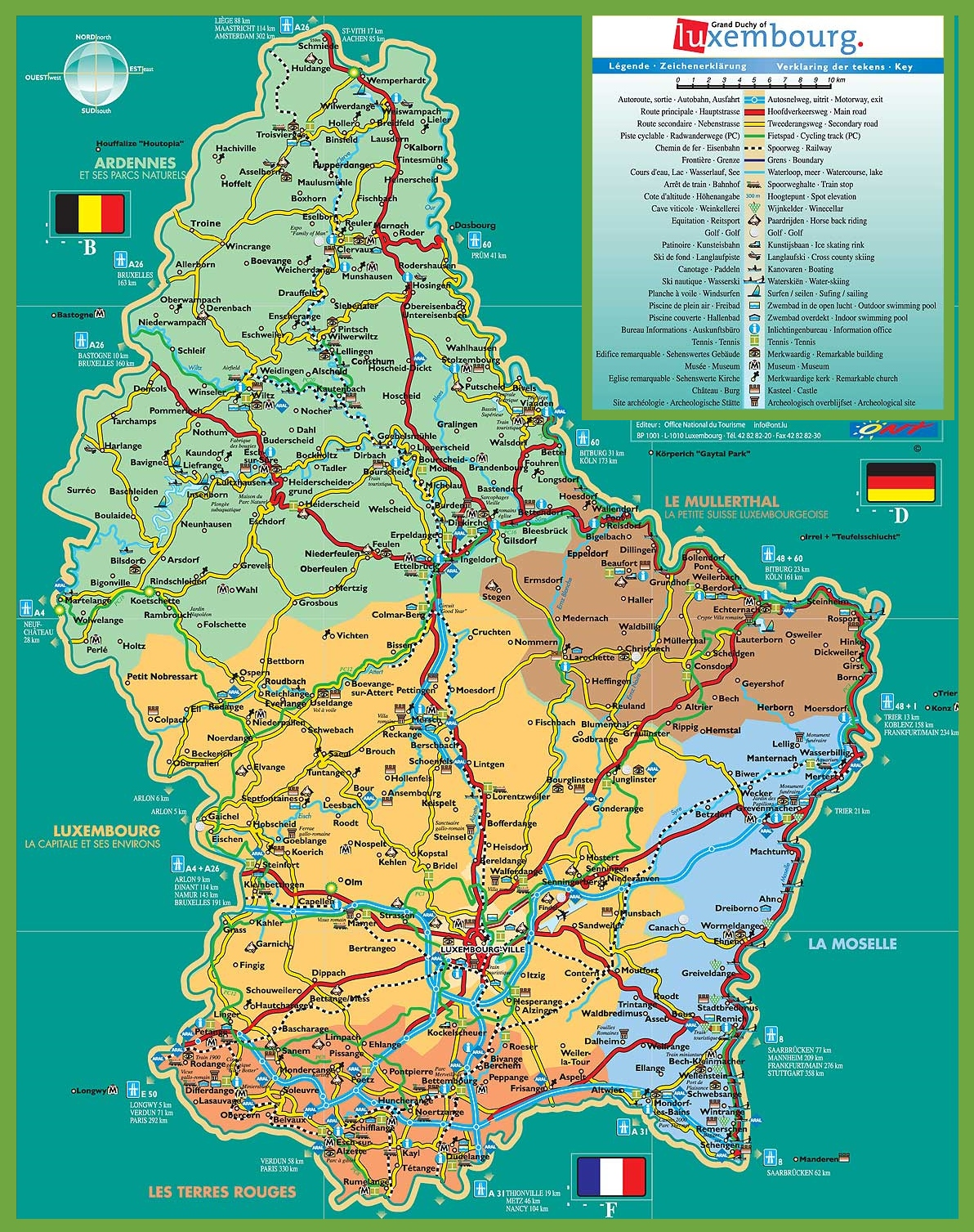 north america map canada with Large Detailed Tourist Map Of Luxembourg on Canada further Cuba besides Glcolor together with Peru Pictures Nazca moreover Extremadura Road Map.