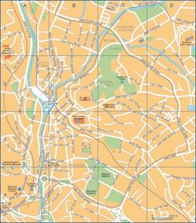 Kuala Lumpur city center map