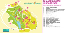 Tun Abdul Razak Heritage Park map