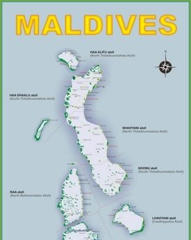 Maldives Maps Maps of Maldives
