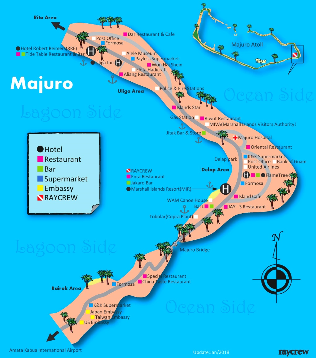 Majuro map