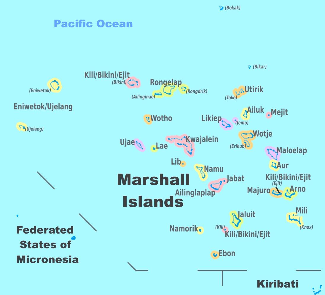 Marshall Islands Map Marshall Islands political map Marshall Islands Map