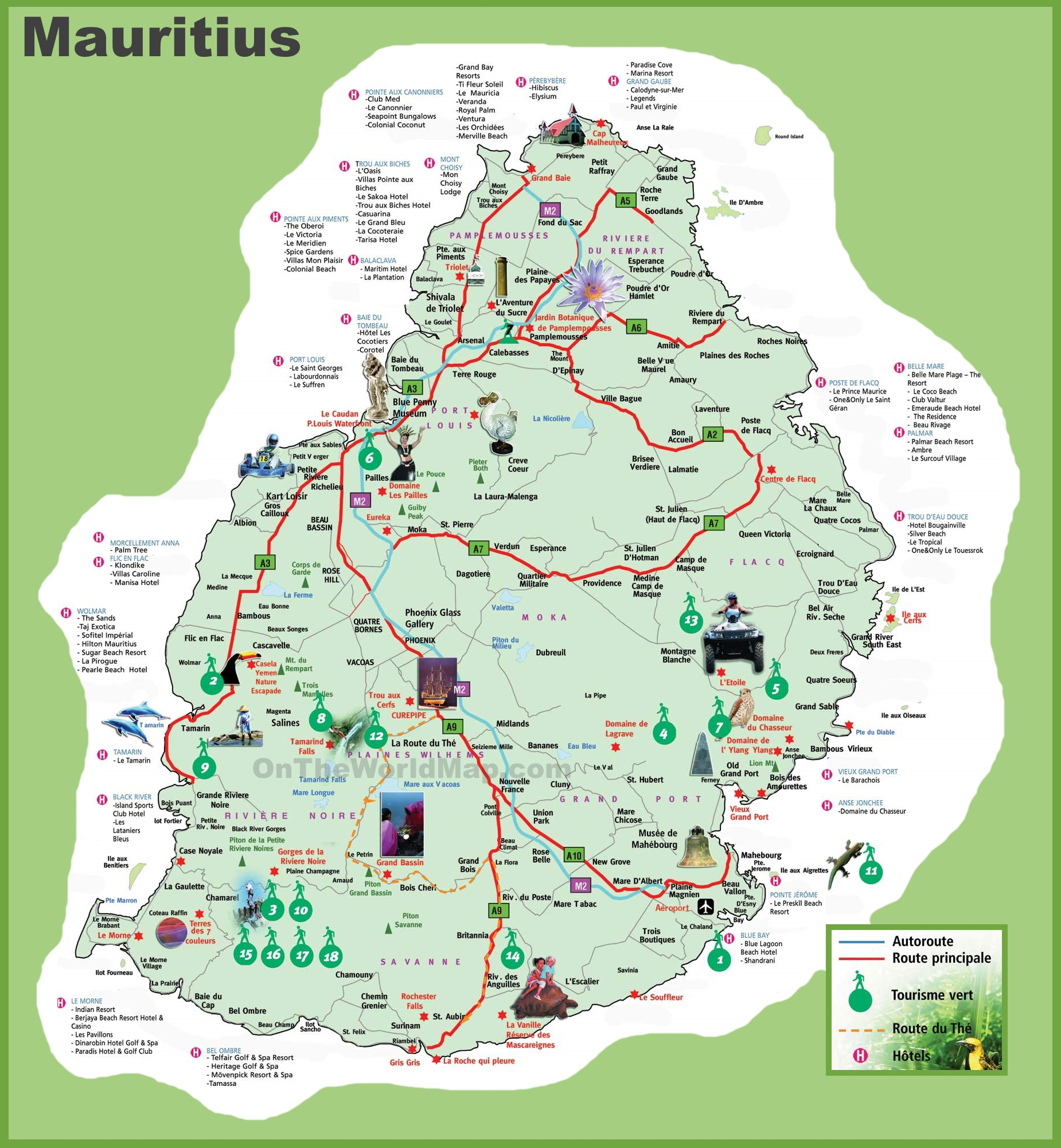 Mauritius Maps Maps Of Mauritius - Mauritius location in world map