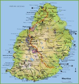 Mauritius maps maps of mauritius - Where is port louis mauritius located ...