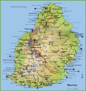Map Of Mauritius Mauritius Maps | Maps of Mauritius Map Of Mauritius
