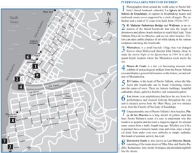 Puerto Vallarta sightseeing map