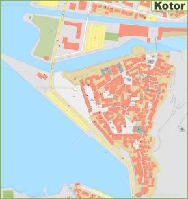 Large detailed map of Kotor