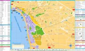 Agadir tourist map