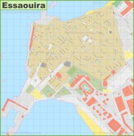 Essaouira Medina Map