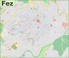 Fez Medina Map
