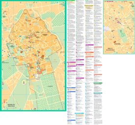 Marrakesh tourist map