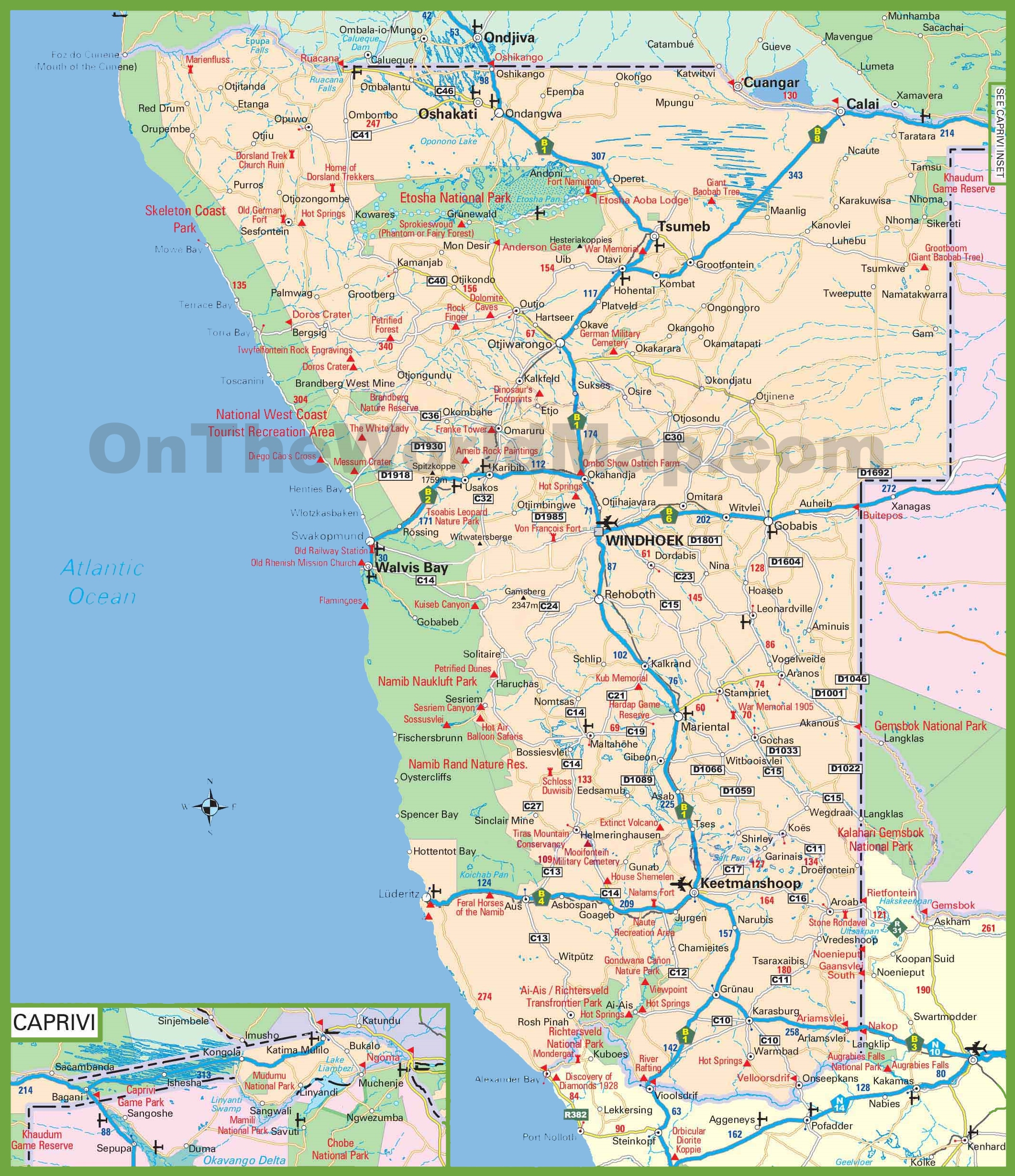 tourist map of paris france with Large Detailed Map Of Namibia on Sintra Cascais furthermore Skeleton Coast further 8058233133 as well Paxos Tourist Map furthermore North Adelaide Map.