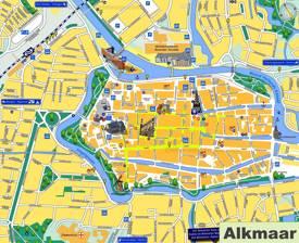 Alkmaar Tourist Map