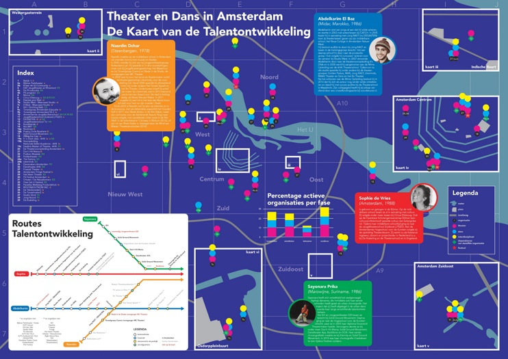 Amsterdam theater map