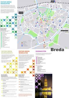 Breda Tourist Map