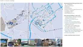 Leiden university buildings map