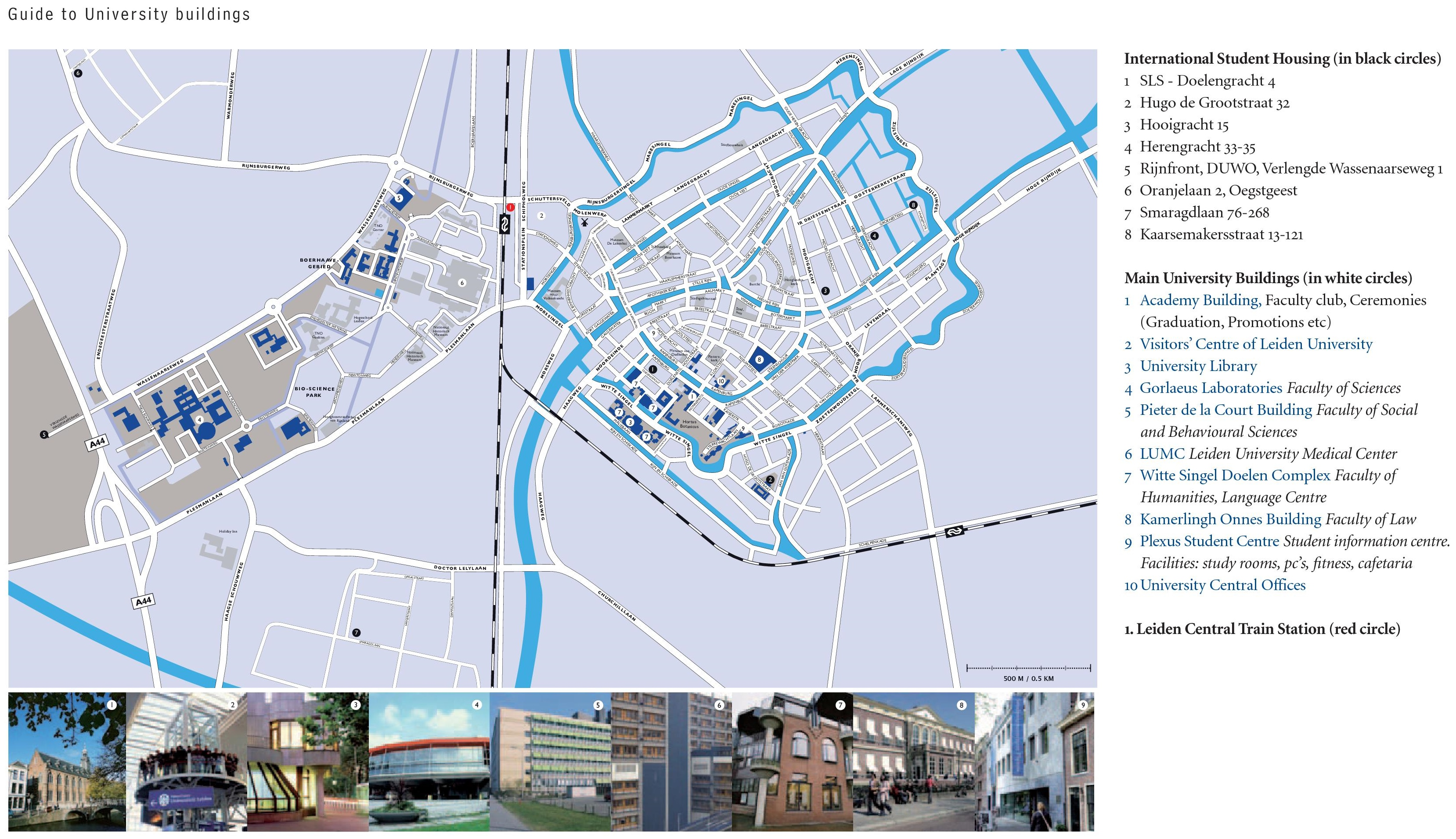 Leiden Maps Netherlands Maps of Leiden