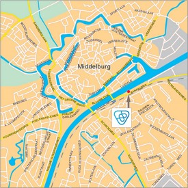 Middelburg road map