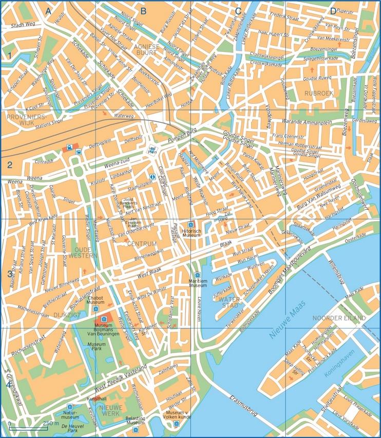 Rotterdam street map