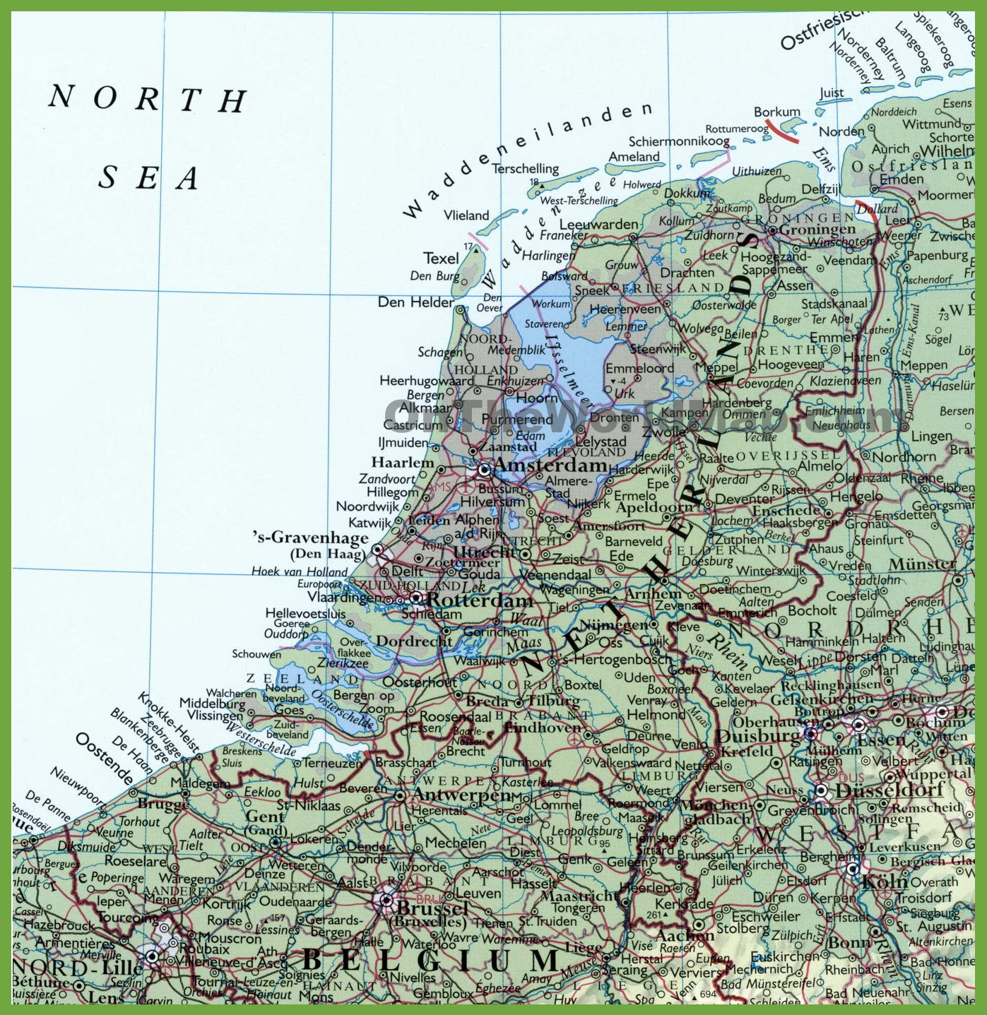 map of belgium towns – miliving.co