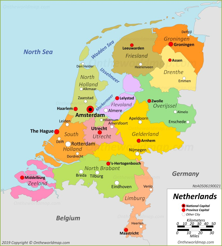 Netherlands Maps | Maps of Netherlands