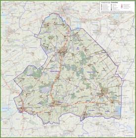 Drenthe road map