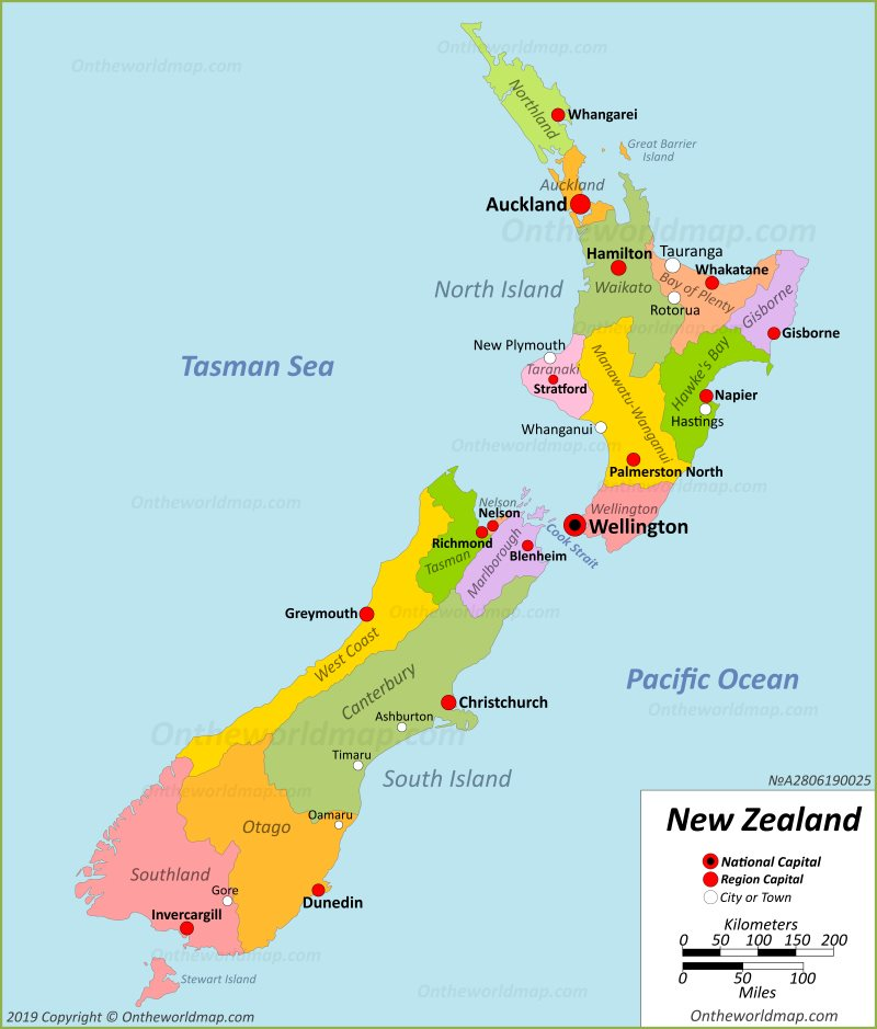 New Zealand Maps | Maps of New Zealand
