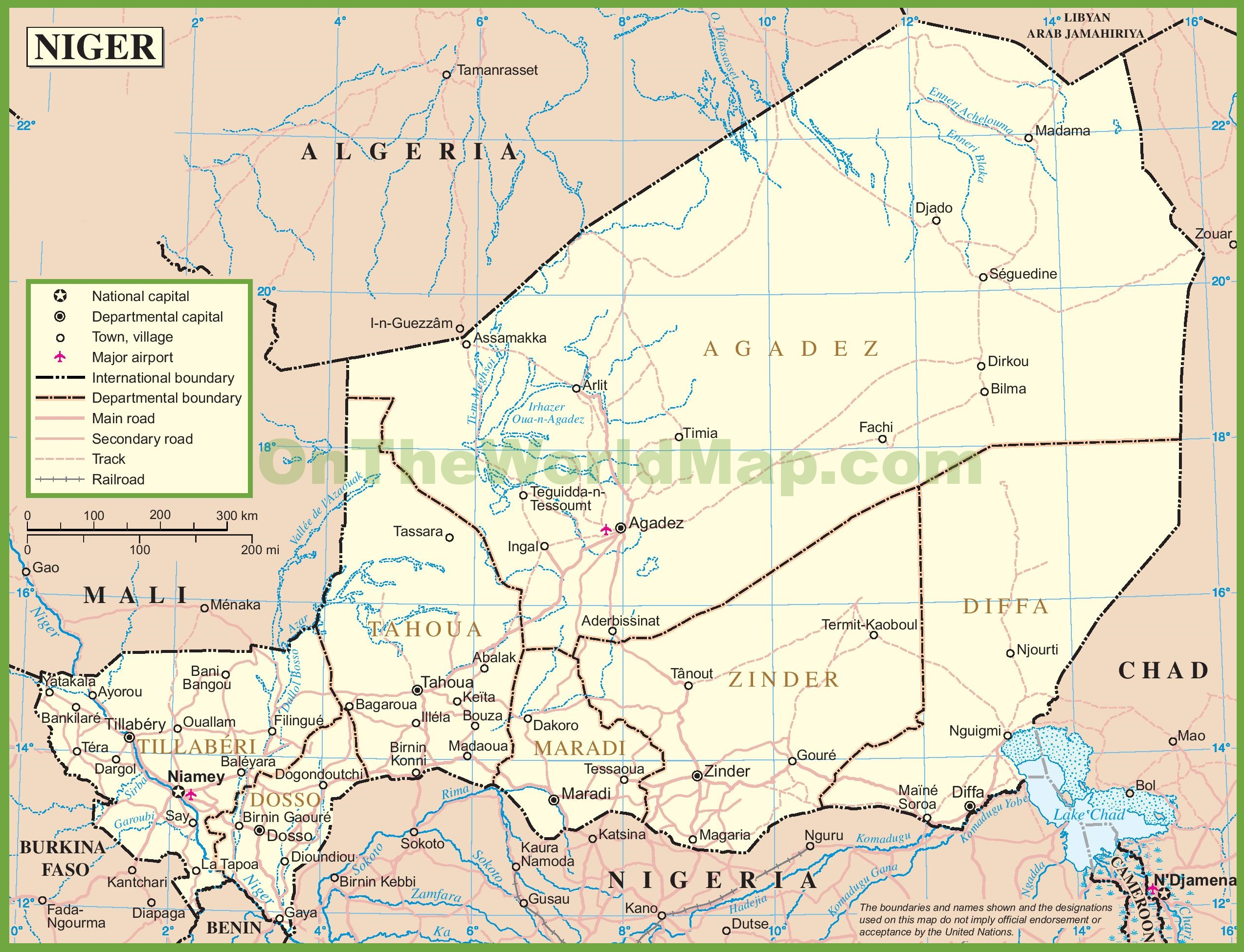 Niger road map
