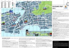 Ålesund tourist map