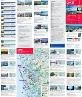 Bergen coast map