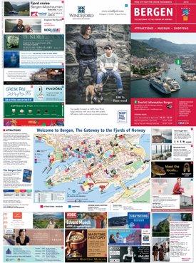 Bergen Cruise Map