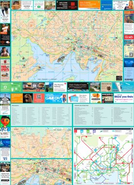 Oslo tourist map