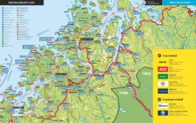 Tromsø Region tourist map