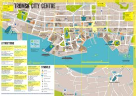 Tromsø tourist map