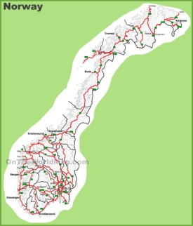 Norway road map
