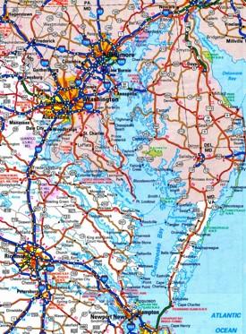 Chesapeake Bay road map