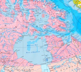 Hudson Bay Maps | Maps of Hudson Bay