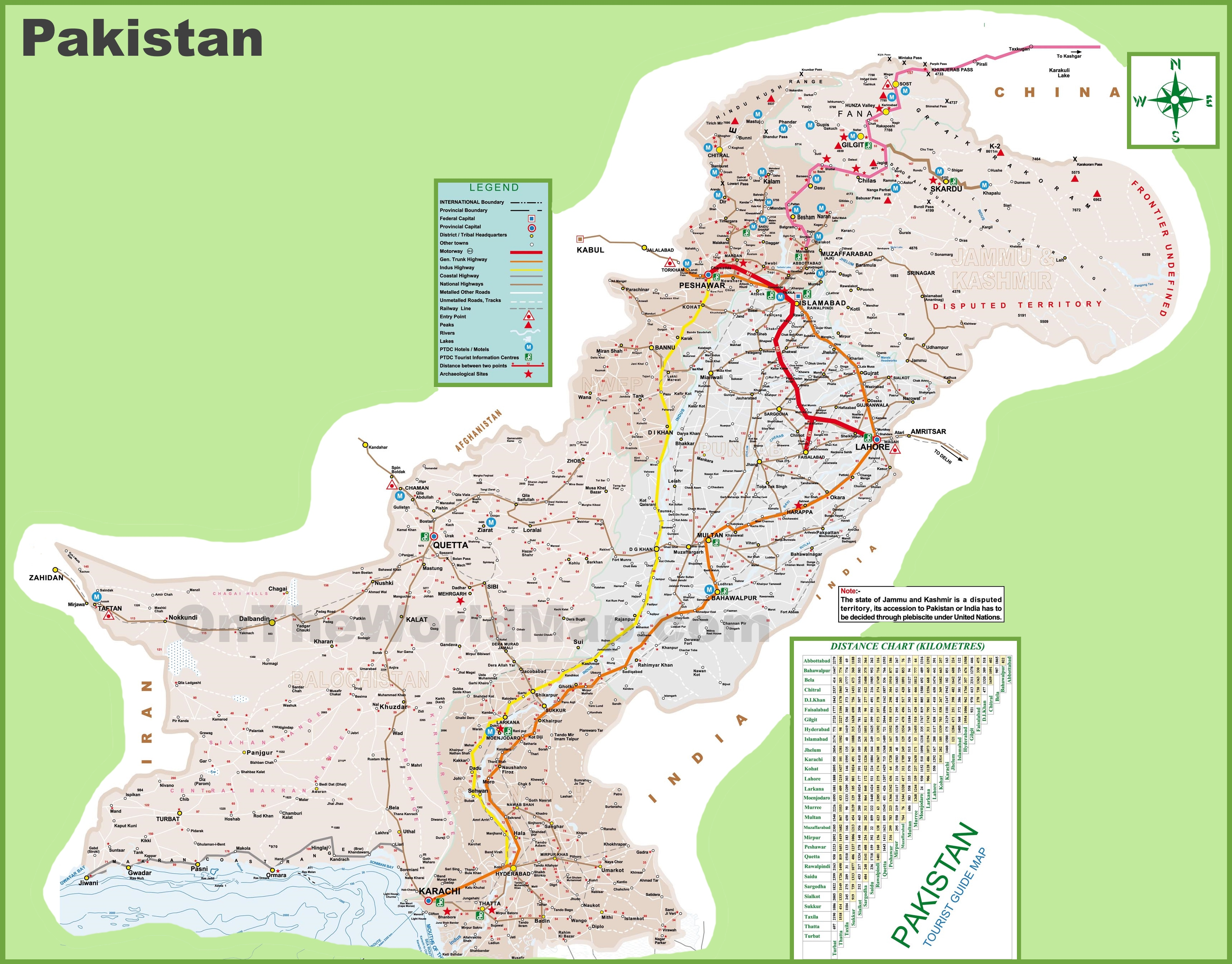 Pakistan Maps Maps of Pakistan