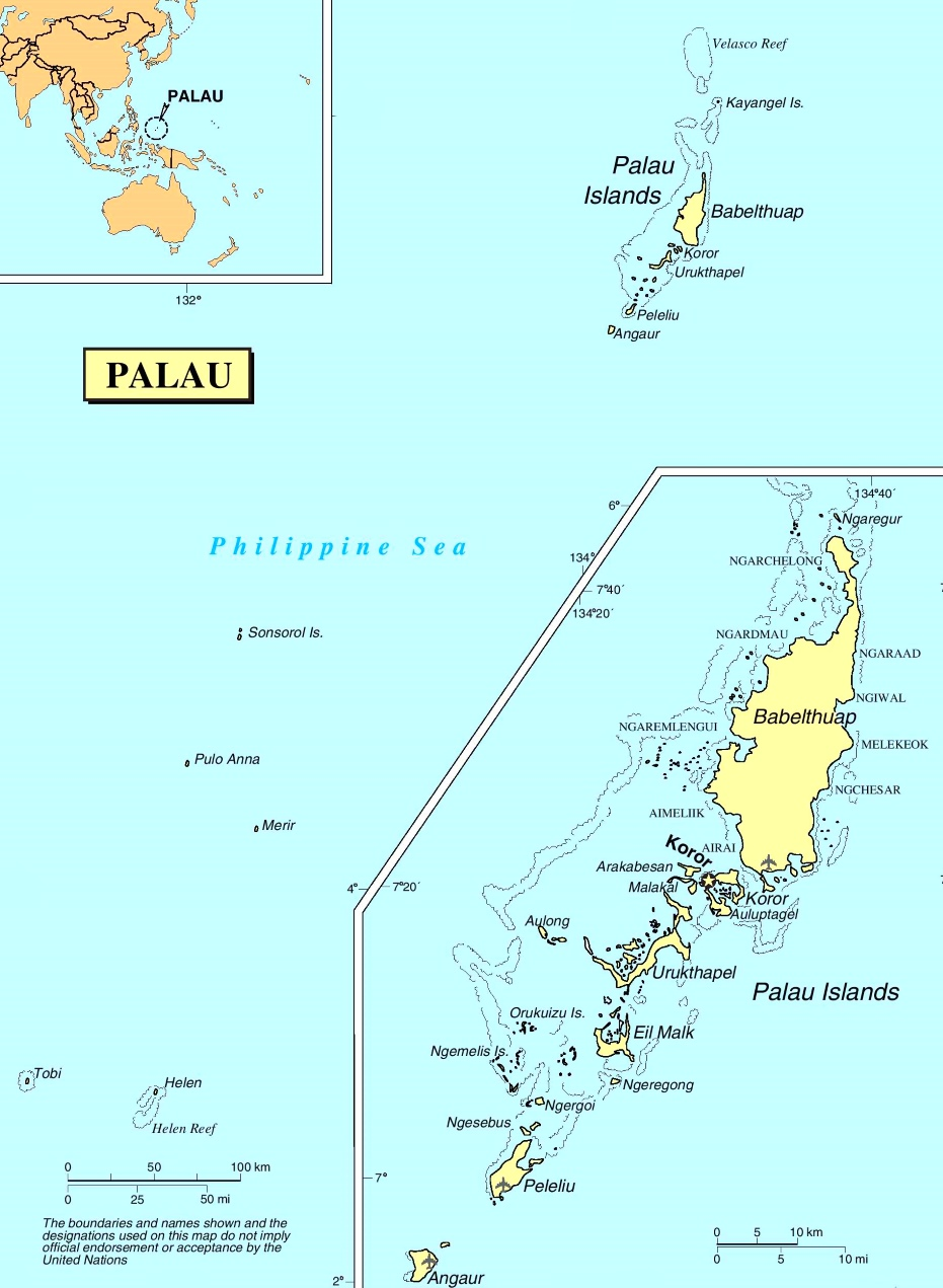palau political map