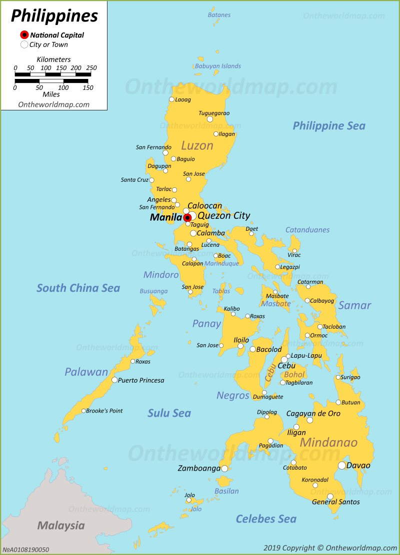 Philippines Maps   Maps of Philippines