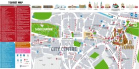 Lublin tourist attractions map