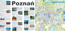 Poznań sightseeing map