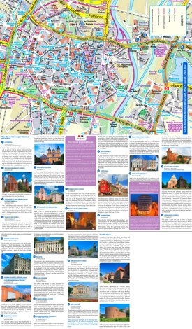 Poznań tourist attractions map