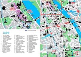 Warsaw sightseeing map