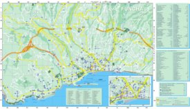 Funchal tourist attractions map