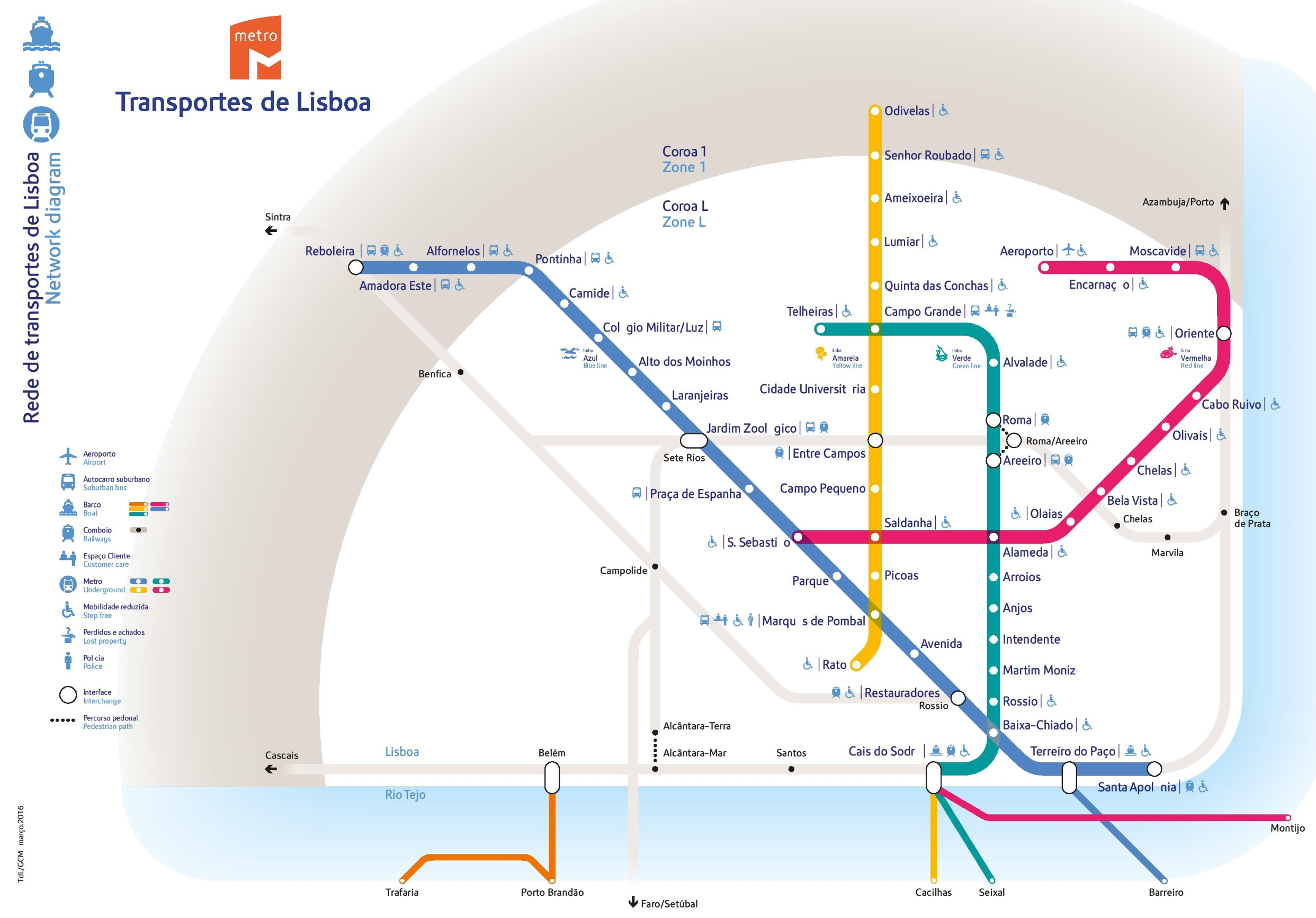 Budapest Subway Map English.Transfer Options From Lisbon Airport To City