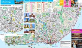 Lisbon sightseeing map