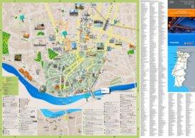 Porto tourist map